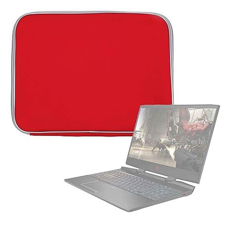 DURAGADGET Funda De Neopreno Roja para Portátil HP Omen 15-dc0004ns, HP Pavilion 15-bc400ns: Amazon.es: Electrónica