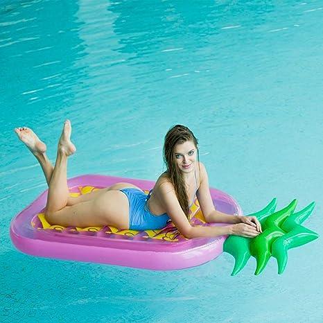 WYJHNL Piña Hinchable Colchoneta Flotador para Piscina ...