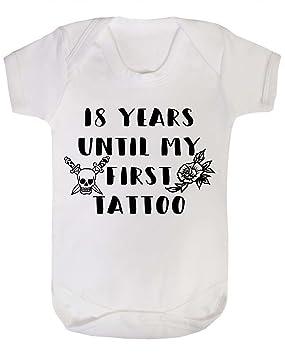 Chaleco para bebé de 18 años hasta mi primer tatuaje, color blanco ...