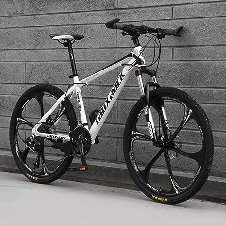 WJSW Bicicleta de montaña para Hombre, 26 Pulgadas de conducción ...