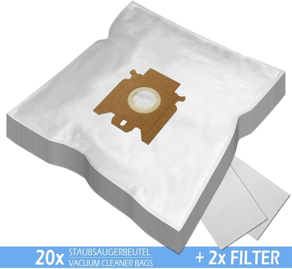 S254I 2 FILTRI per ASPIRAPOLVERE Miele S 254 I + 20 PROFUMI Microfibra PakTrade 20 Sacchetti