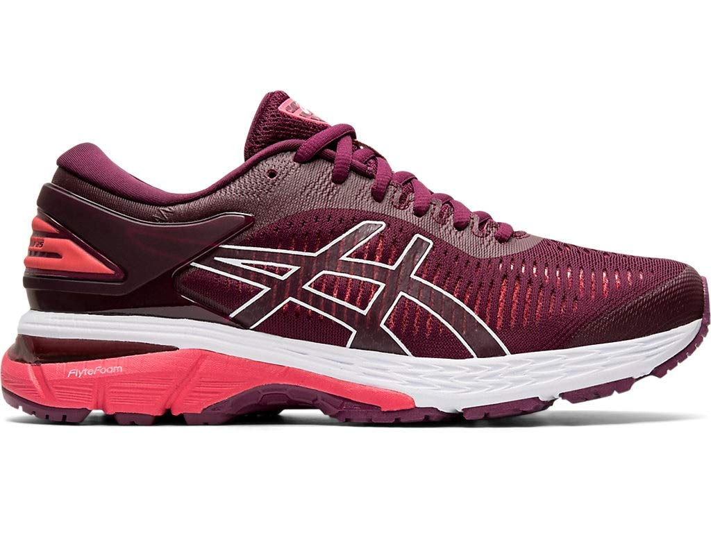 ASICS Women's Gel-Kayano 25 Running Shoes, 8M, Roselle/Pink Cameo by ASICS