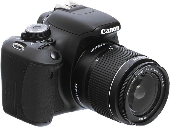 appareil photo numerique slr canon eos 600d 18 megapixels 7 6 cm ecran pivotant full hd