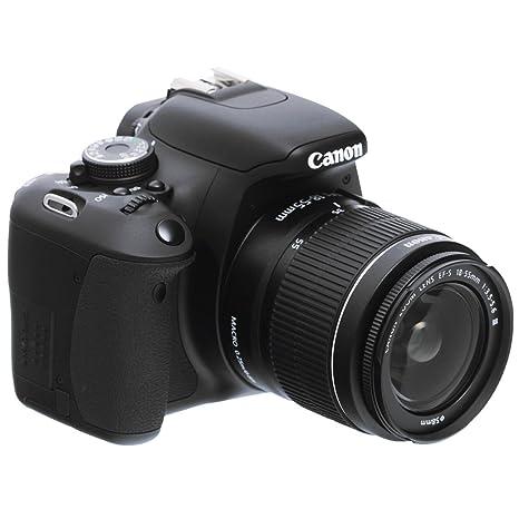 Canon 600D + 18-55mm IS II, 5170B073AA: Amazon.es: Electrónica