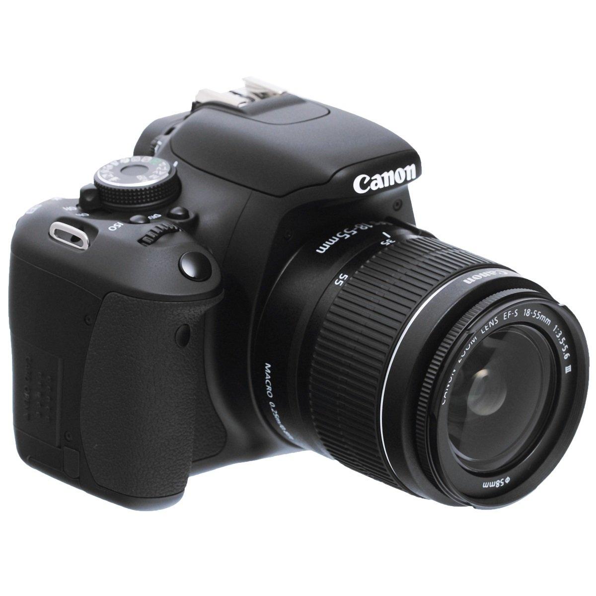Canon EOS 600D Fotocamera Reflex Digitale 18 Megapixel con Obiettivo EF-S 18-55mm IS II product image