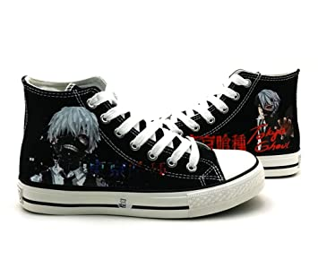 eb48ddc5c1233 Telacos Tokyo Ghoul Kaneki Ken Cosplay Shoes Canvas Shoes Sneakers ...