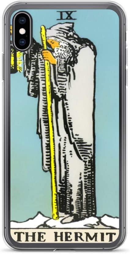 The Hermit Tarot Card iPhone 11 case