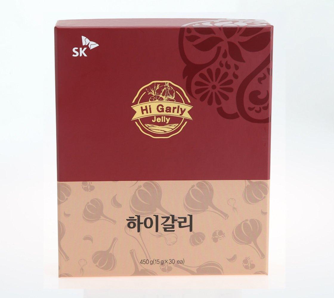 SK Hi Garly Garlic Jelly Nutritious Healthy Jelly Snack (30 sticks)