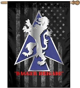 "2nd BDE Combat Tm Dagger Brigade 1st ID V1 Home Banner Flags Springtime 27""x37"" Decorative Garden Flag"