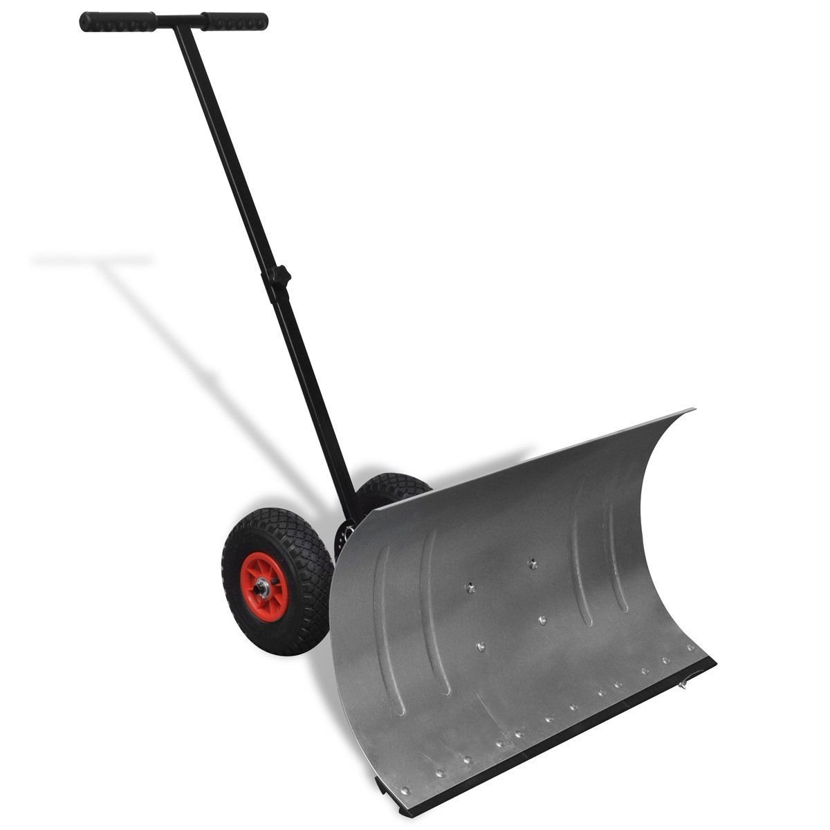 Manual Snow Shovel with Wheels, Snow Removal Equipment