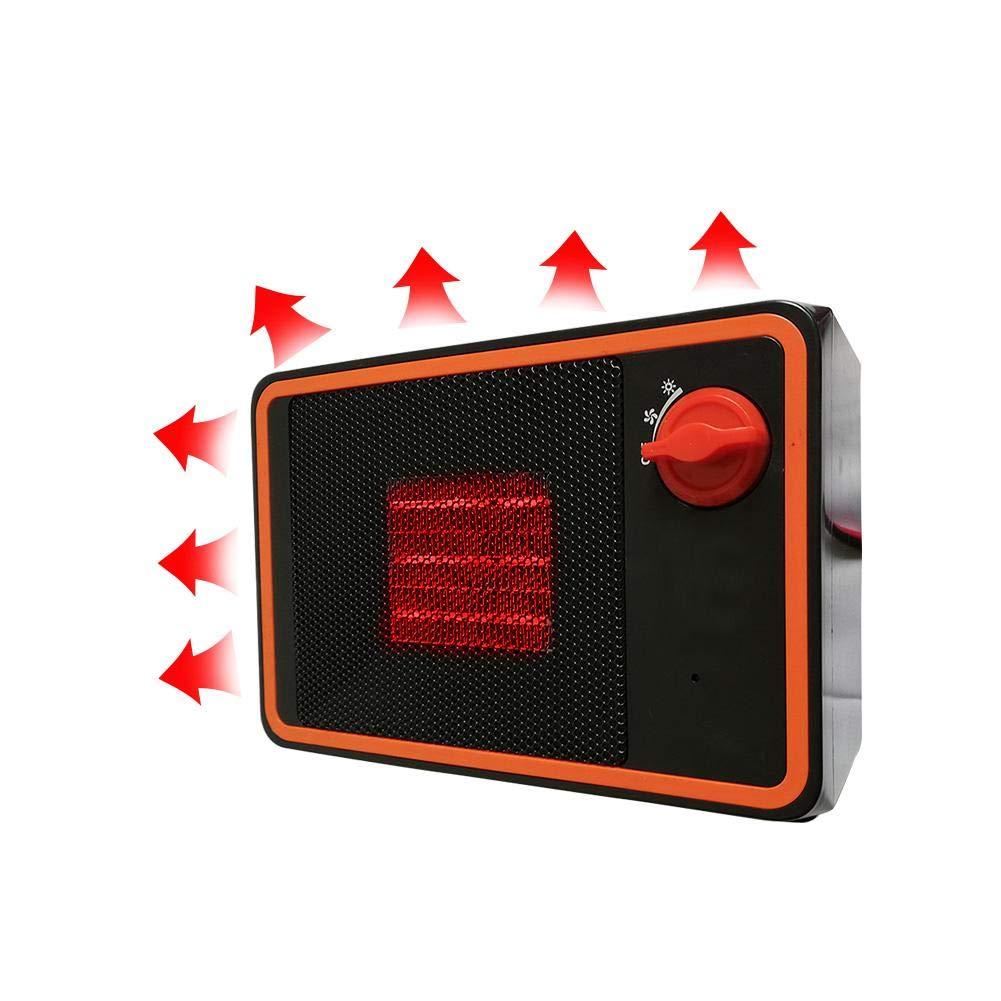 Bloomma 24V 350W Chauffage Ventilateur pour Allume Cigare de Voiture Chauffage portatif pour Voiture Chauffage d'appoint La sé curité