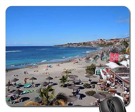Amazon.com: Mouse Pad - Beach Spain Tenerife Maritime ...