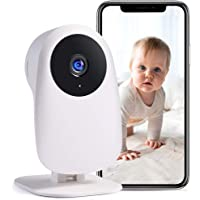 Nooie Baby Monitor with Camera and Audio 1080P Night Vision Motion and Sound Detection 2.4G WiFi Home Security Camera…