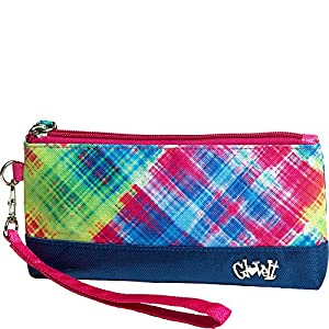 Glove It Female Electric Plaid Wristlet by Glove It