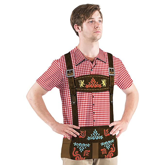 Amazon.com: OKTOBERFEST de los hombres sublimada Allover la ...