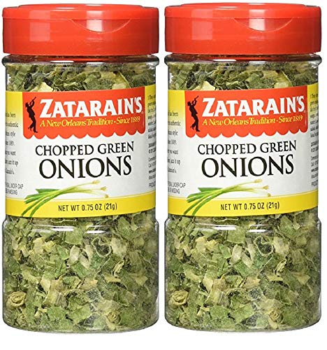 Zatarain's Dehydrated Chopped Green Onions, 0.75 Ounces (Pack of ()