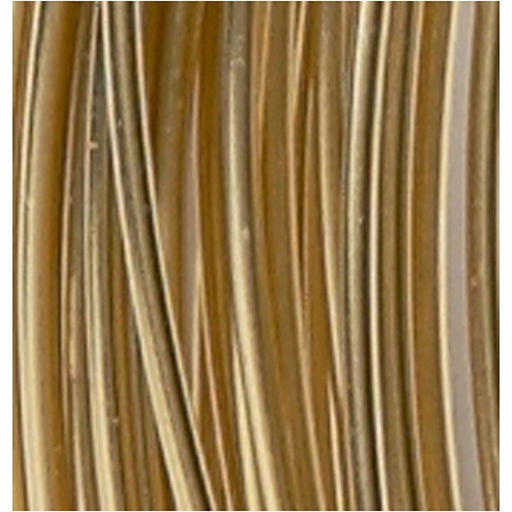 grosor 2 mm redondo 10m Alambre de aluminio dorado