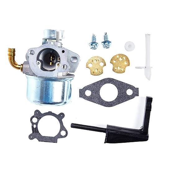MZY LLC Carburador Compatible con Briggs & Stratton INTEK ...