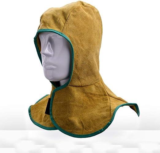 retardante de llama Capucha protectora de algod/ón lavable para soldar se adapta a todos los tipos de casco de soldadura