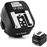 Pixel TF321 E-TTL ホットシューアダプター PC同期ポート Canon EOSデジタル一眼レフカメラ(キャノンは専用フラッシュ・シューアダプター)に対応