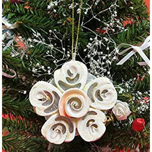 61YGUm0mIML._SS300_ 100+ Best Seashell Christmas Ornaments