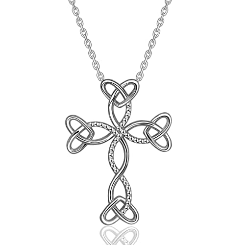 Amazon Aeonslove 925 Sterling Silver Celtic Knot Cross Infinity