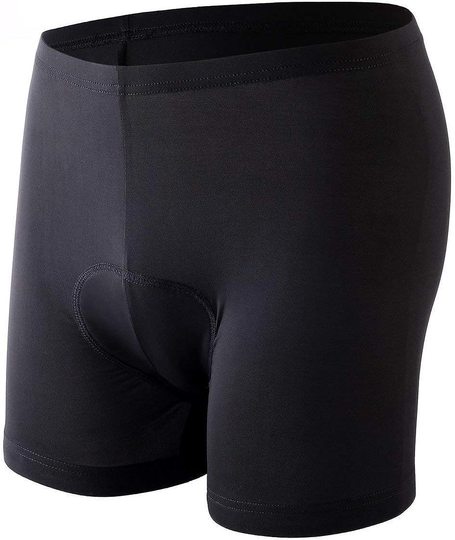 Sportneer Cycling Shorts Mens 3D Padded Bicycle Bike Shorts Underwear with Anti-Slip Leg Grips