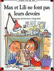 """Afficher """"Max et Lili ne font pas leurs devoirs"""""""