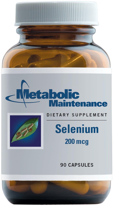 Metabolic Maintenance - Selenium - 200 mcg, Better Absorption + Antioxidant Activity, 90 Capsules