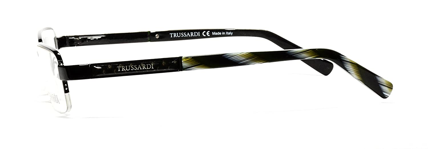 Trussardi eyeglasses TE11232 011 frame with carbon fiber components,Size:52-17-135