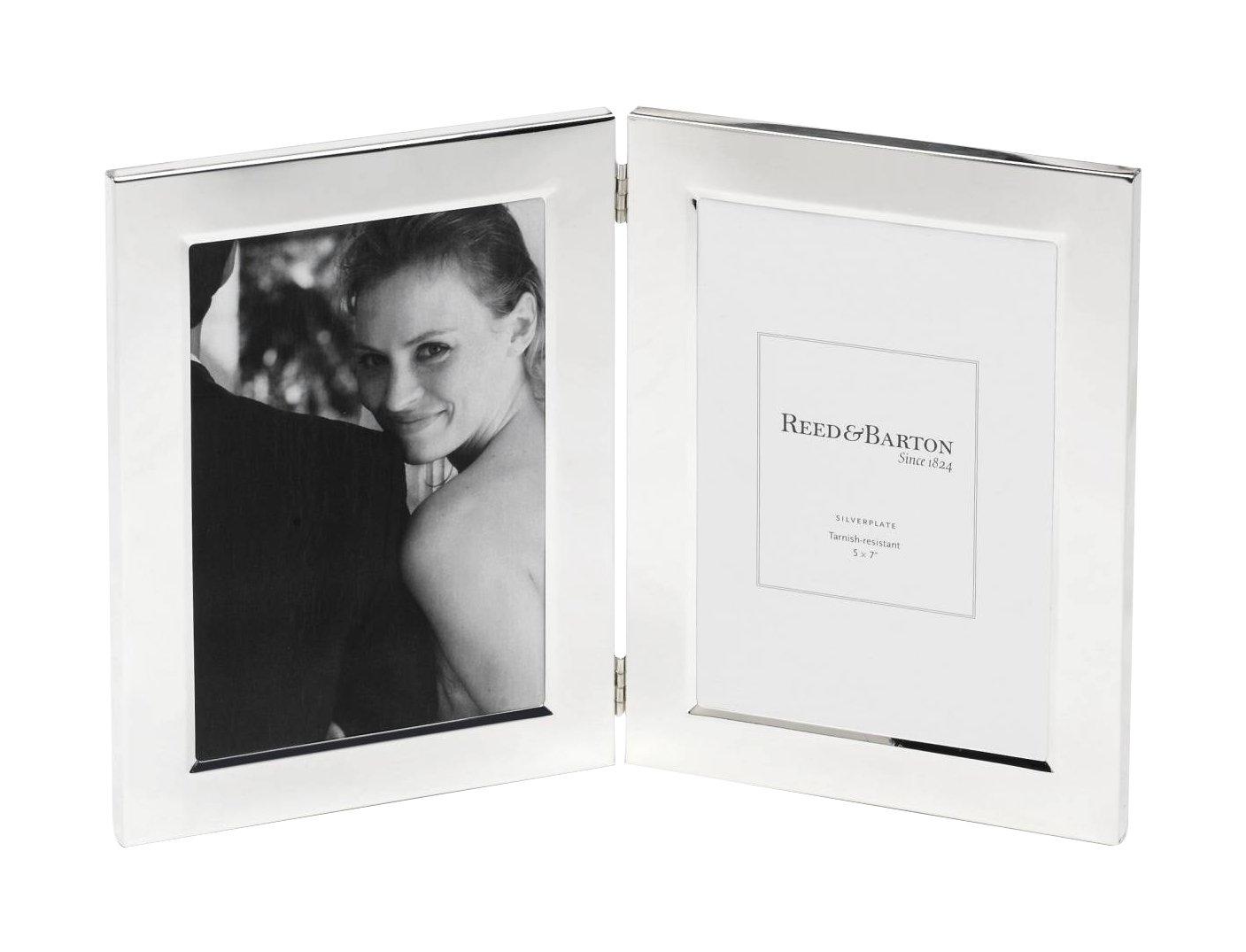 e4ea2b9e5c83 Amazon.com - Reed   Barton Classic Silver plate Double Frame