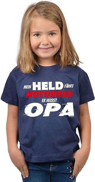 Kinder Tshirt Opa Spruche Grossvater Enkel Kindershirt Fahrt Motorrad Opa Madchen Spruche Shirt Opa Enkeltochter Amazon De Bekleidung