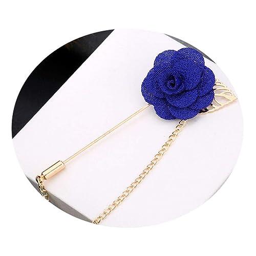 Amazon.com: Broche de flor de diseño especial para hombres y ...