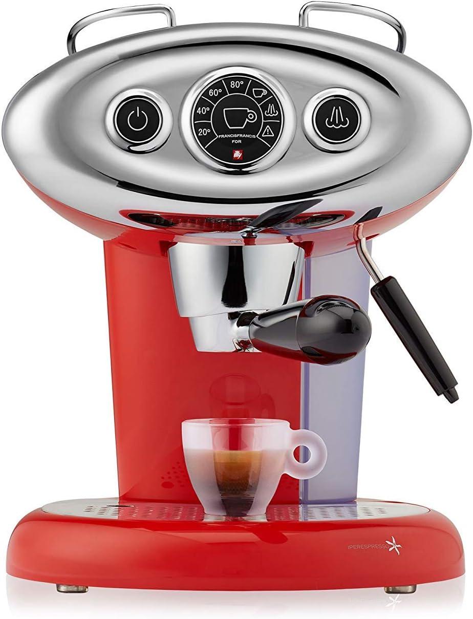 illy Francis Francis X7.1 Iperespresso - Cafetera italiana 26 x 29 x 23 cm Rojo (Rosso): Amazon.es: Hogar