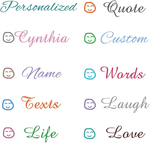 Custom Name Or Text Wall Sticker Decal Vinyl Art Personalized Home Word Decor