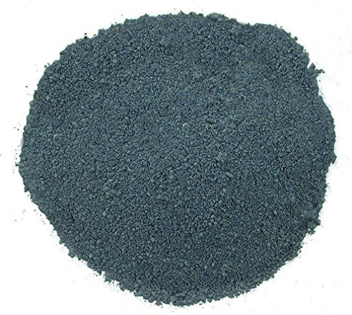 - 1/2 Ounce Crushed Stone Africa Congo Azurite Craft Inlay Sand Painting Craft Powder 2mm & Less