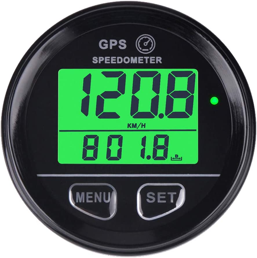 GPS Cuentakilometros Velocimetro digital Speed Meter Waterproof Digital GPS Backlight Speed Counter For ATV UTV Motorcycle Automobile motor vehicle Runleader RL-SM001
