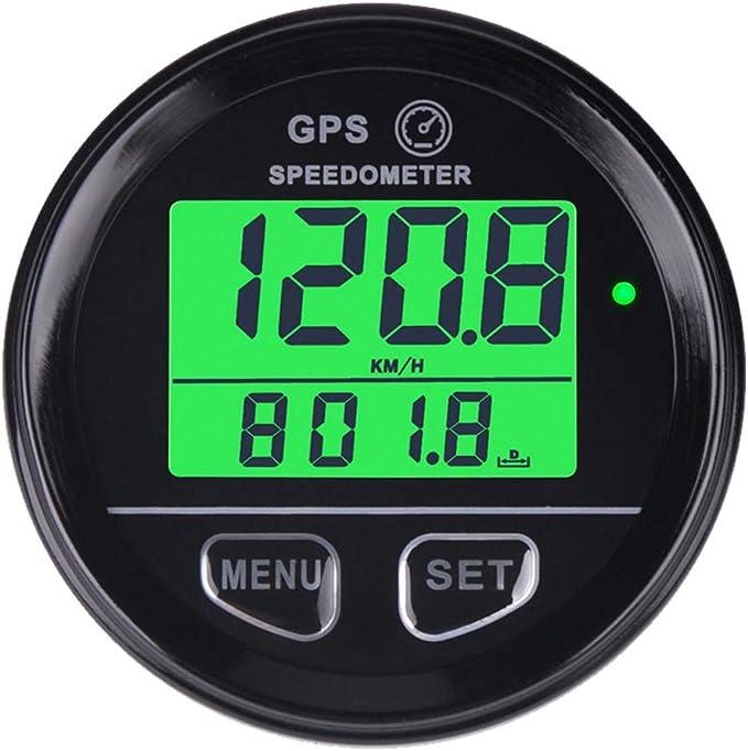 Gps Speedometer Motorcycle Speed Meter Waterproof Digital Gps Backlight Speed Meter For Atv Utv Motorcycle Car Vehicle 60 Mm Auto