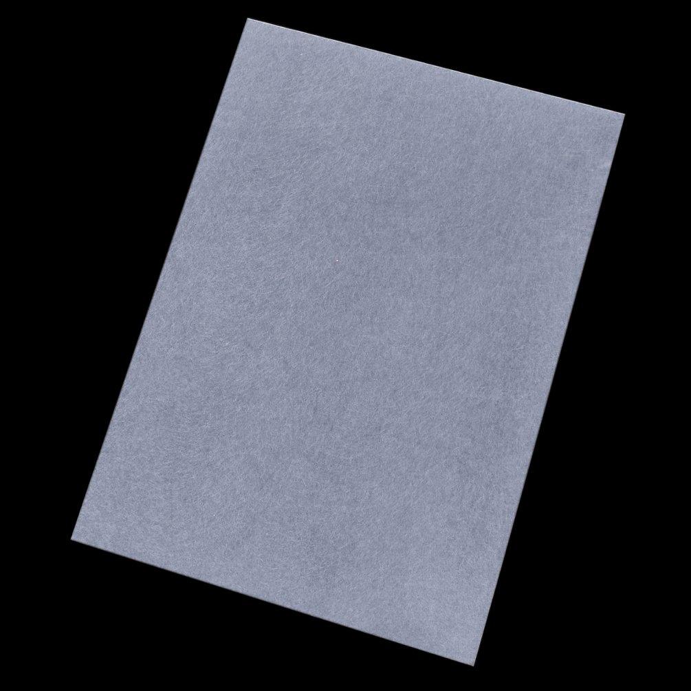 Kesheng 5pcs Pl/ástico M/ágico Transparente Imprimible 21x29,7cm para Manualidades de Llavero Pendientes Arte de Encogimiento