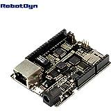 RobotDyn - Leonardo ETH with PoE - Leonardo Ethernet W5500 + Micro SD card reader/writer with PoE, compatible for Arduino Leonardo Eth Ethernet
