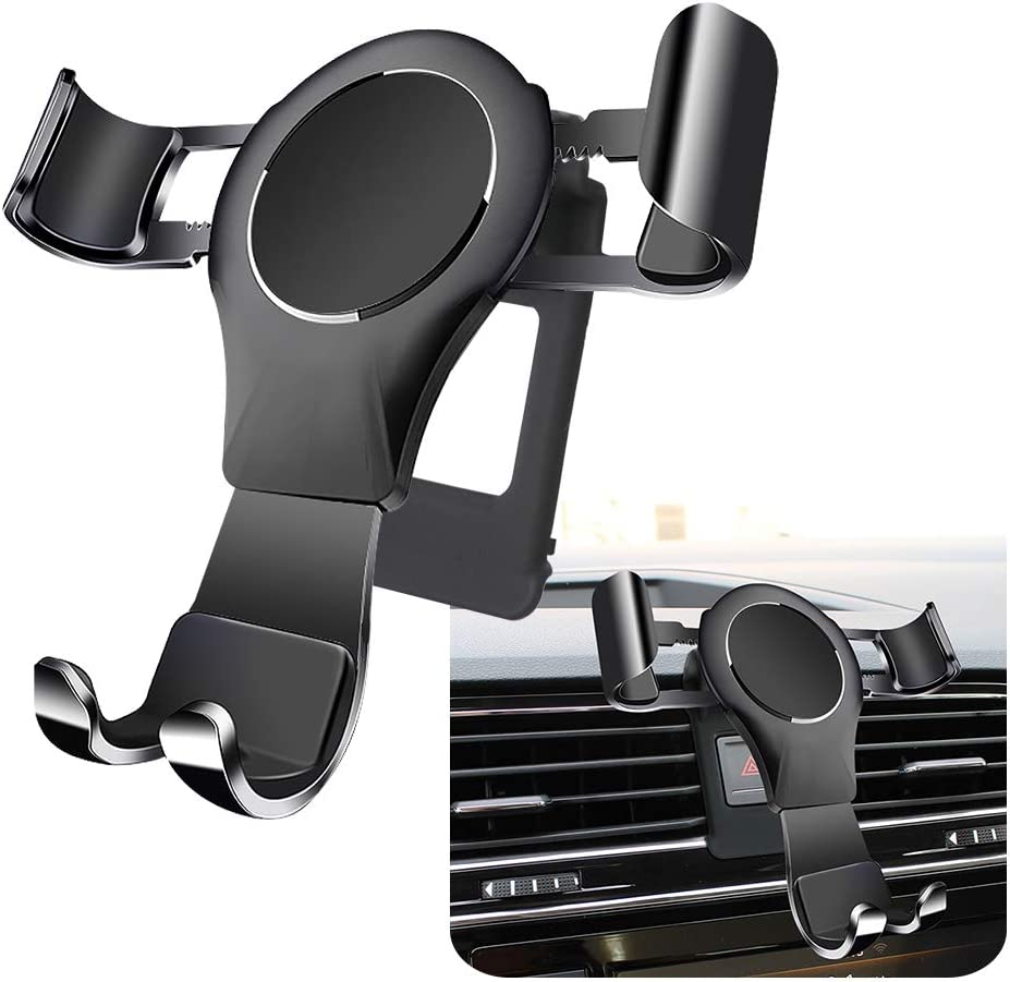 LUNQIN Car Phone Holder for for Volkswagen Tiguan 2018-2020 Auto Accessories Navigation Bracket Interior Decoration Mobile Cell Phone Mount