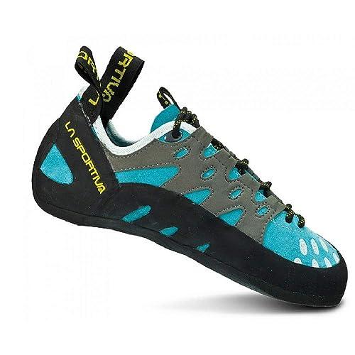 La Sportiva Tarantulace Woman Turquoise, Zapatos de Escalada para Mujer: Amazon.es: Zapatos y complementos