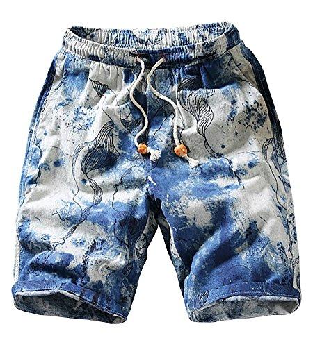 Billy Goat Cotton Shorts - Wxian Men's Recreational Sports Beach Shorts