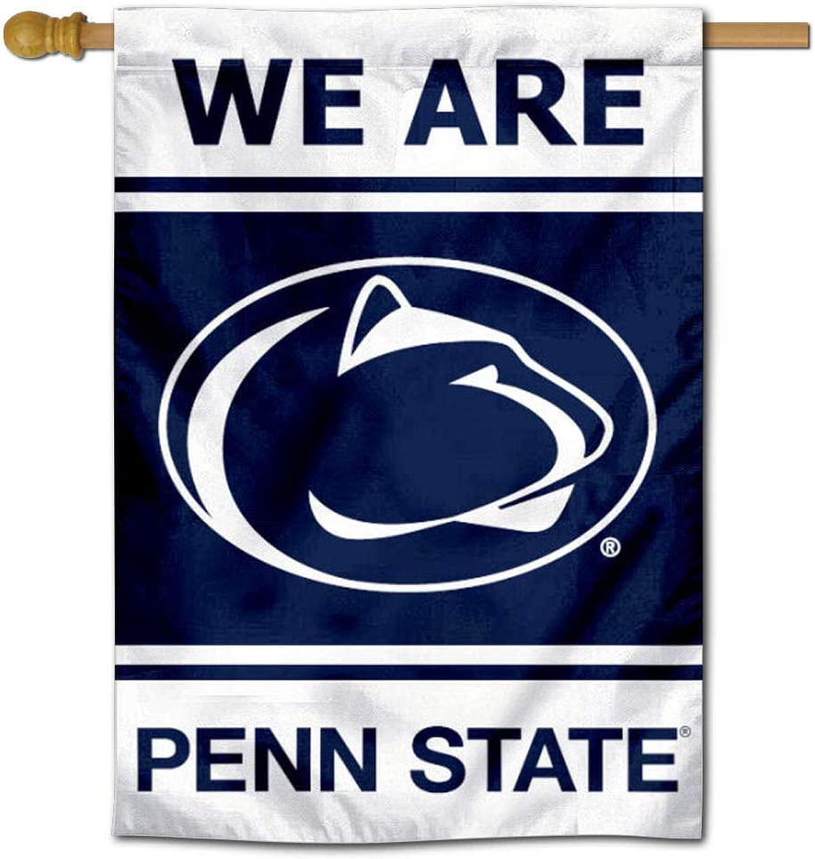College Flags & Banners Co. Penn State Nittany Lions Two Sided and Double Sided House Flag
