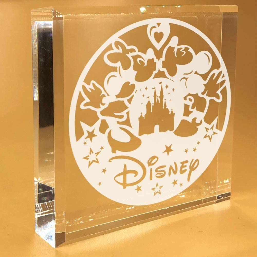 Mickey Mouse Gifts For Women | Adults | Disney | Minnie | Girlfriend | Desk Plate | Christmas | Paperweight | Keepsake