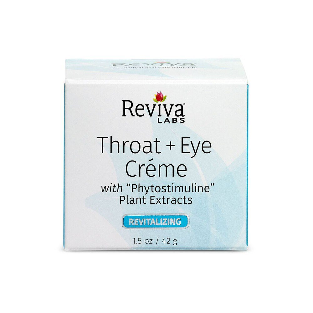 Reviva Labs Throat and Eye Cream - 1.5 oz UNFI - Select Nutrition 316