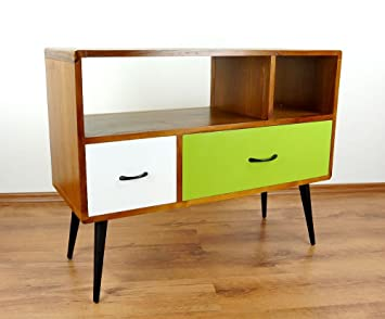 vintage tv bank amazing tv bank holz vintage wohnwand vintage teilig birke massiv holz. Black Bedroom Furniture Sets. Home Design Ideas