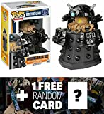 Evolving Dalek Sec (GameStop Exclusive): Funko POP! x Doctor Who Vinyl Figure + 1 FREE Official Dr Who Trading Card Bundle (057862)