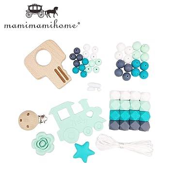 Mamimami Home Diy Krankenpflege Halskette Zahnen Perlen Silikon