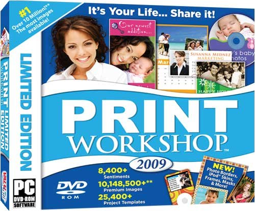 Valusoft Print Workshop 2009: Limited Edition (Jewel Case)